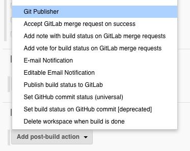 Publishing a build report to Git - DevOps for Salesforce