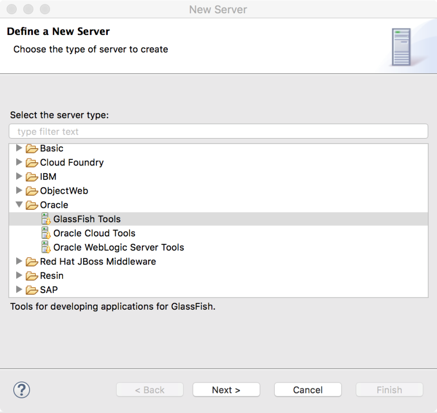 Configuring the GlassFish Server in Eclipse - Java EE 8 Development