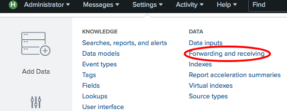 Using the Universal Forwarder to gather data - Splunk Operational