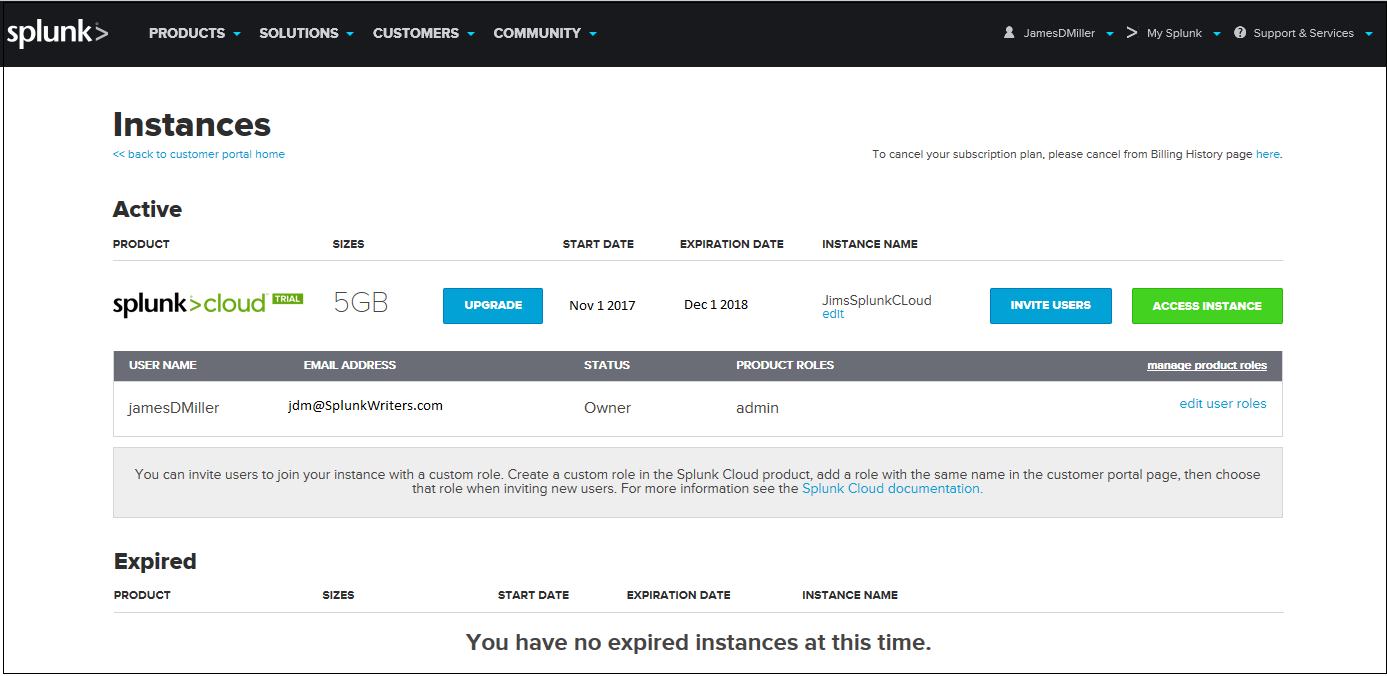 Splunk Command Reference