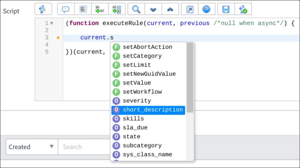 Integrated development environment - Learning ServiceNow