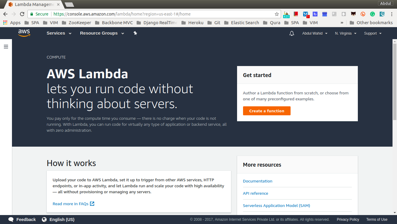 How AWS Lambda works - Building Serverless Python Web Services with