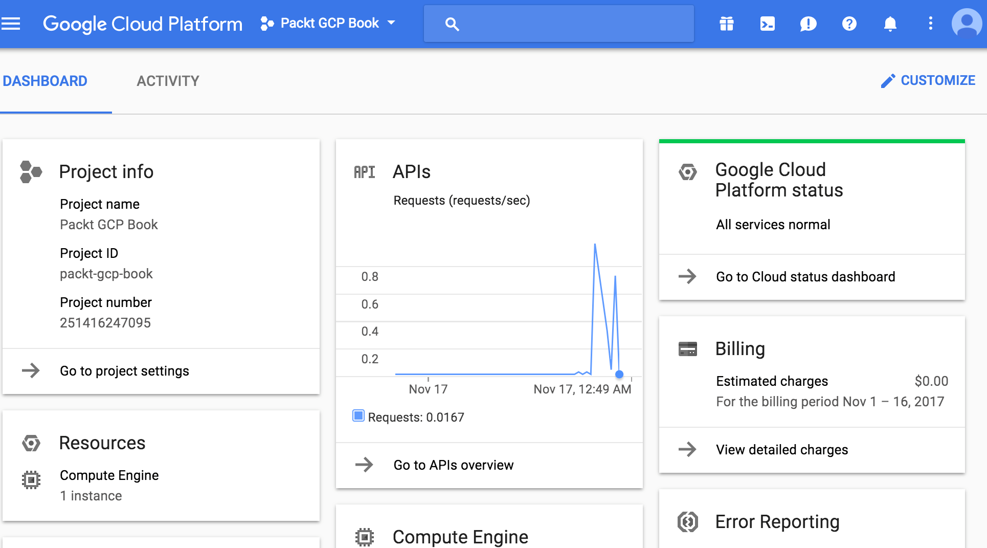 The Google Cloud Console - Google Cloud Platform for Developers