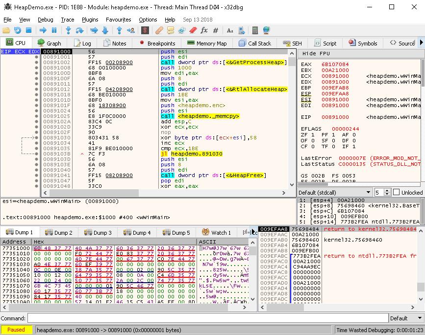 Decrypting with x86dbg - Mastering Reverse Engineering