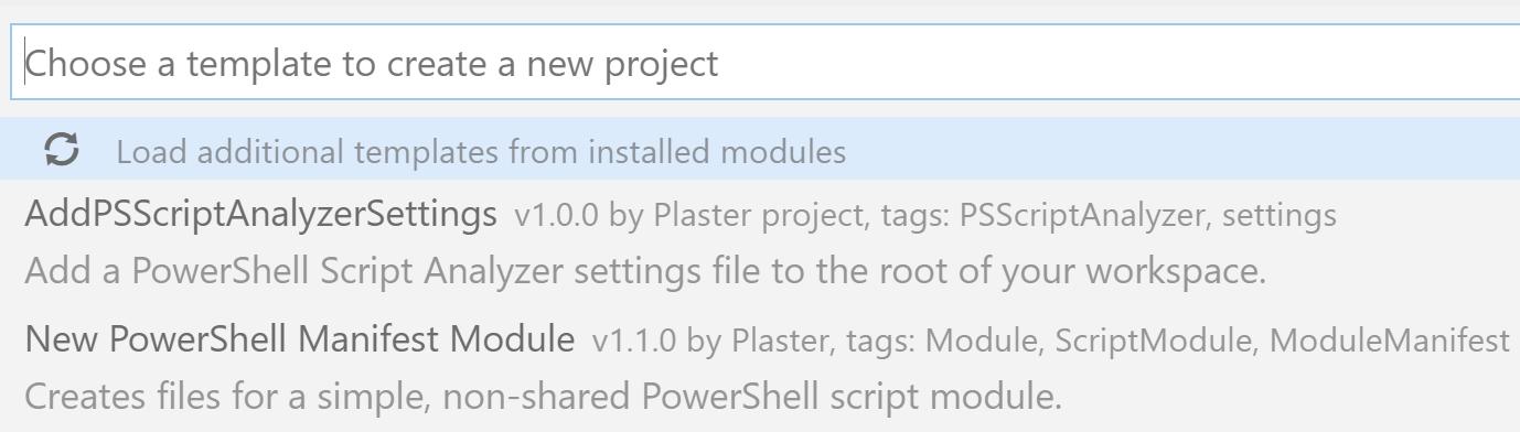 Plaster - Learn PowerShell Core 6 0