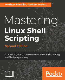 Multiple sed commands - Mastering Linux Shell Scripting - Second Edition