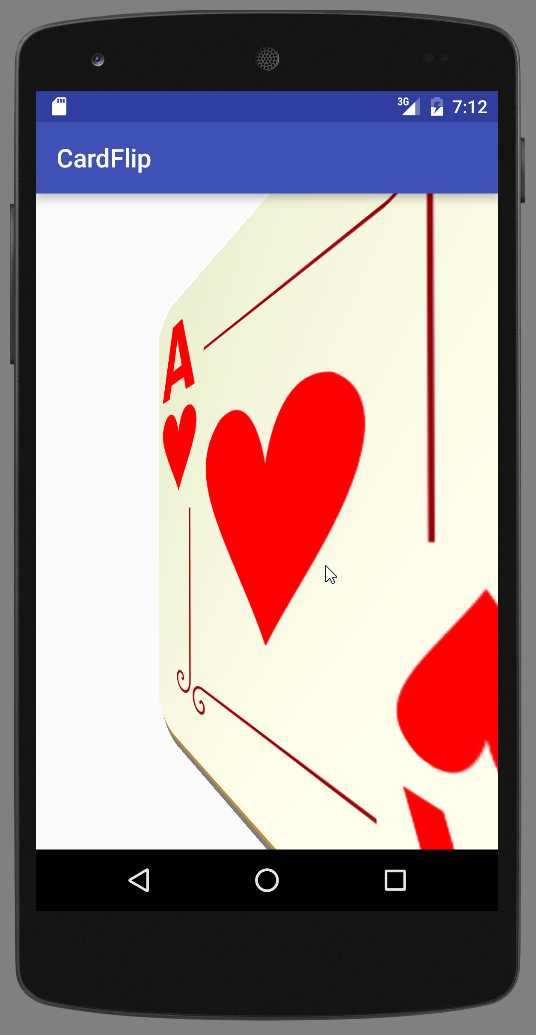 Creating a Card Flip Animation with Fragments - Android 9
