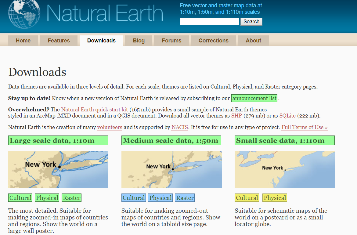 Getting data from the web - Hands-On Geospatial Analysis