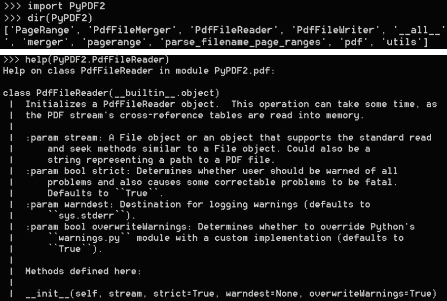 Extracting metadata from pdf documents - Mastering Python