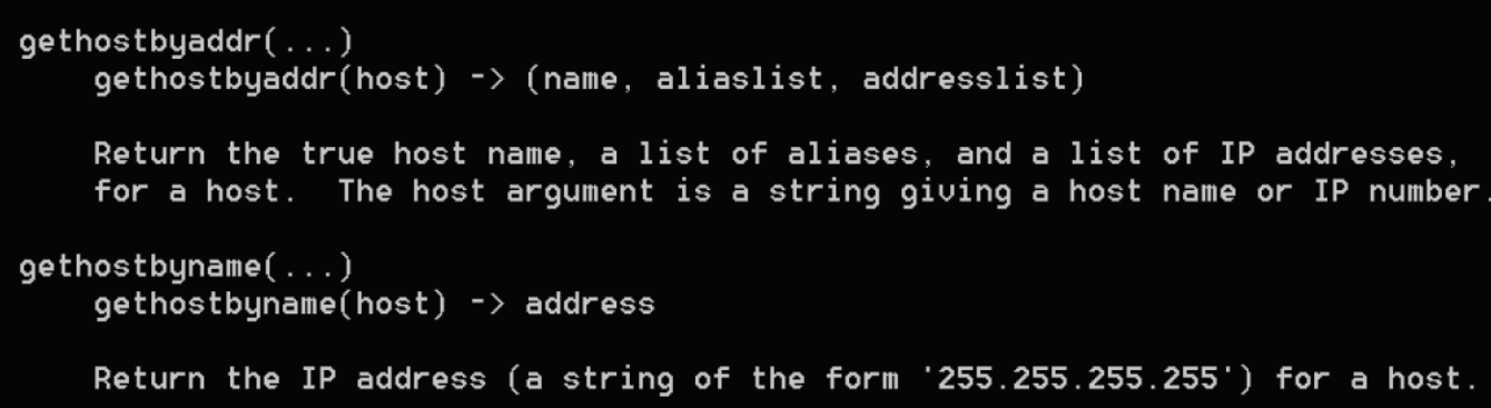 Resolving IP addresses and domains - Mastering Python for Networking