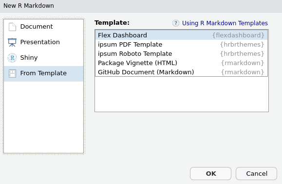 Flexdashboards - Web Application Development with R Using