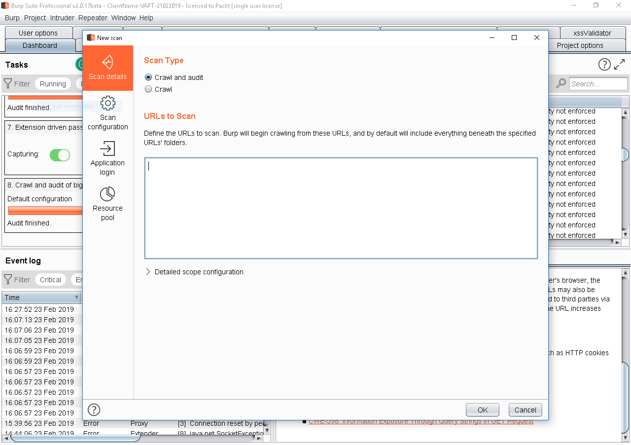 Performing out-of-data extraction using XXE and Burp Suite