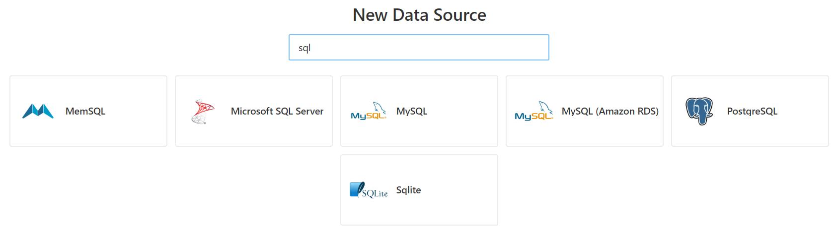 Adding a new Redash Data Source - Redash v5 Quick Start Guide
