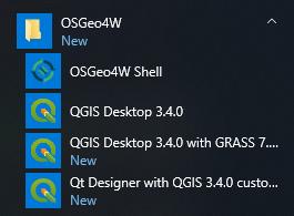 Installing QGIS 3 4 - Learn QGIS - Fourth Edition