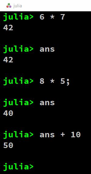 For julia usernames TOP 8