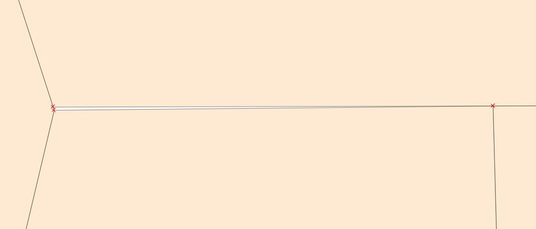 Example 3 – Repairing a gap between polygons - Mastering Geospatial