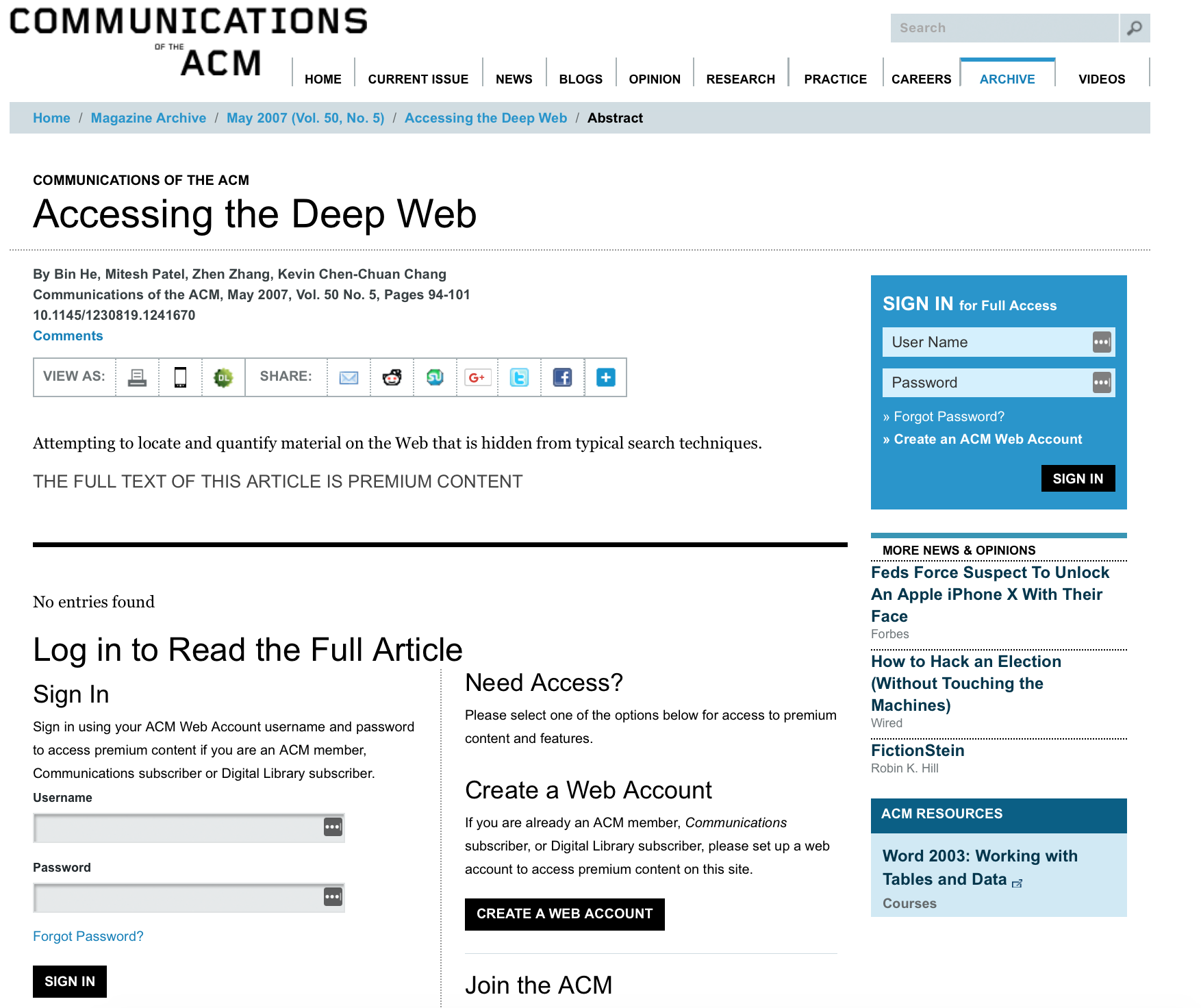 The Deep Web - Hands-On Dark Web Analysis
