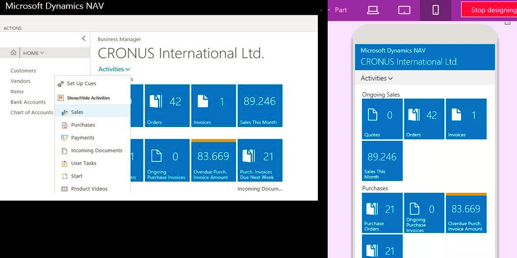 History of Microsoft Dynamics NAV and Microsoft Dynamics 365