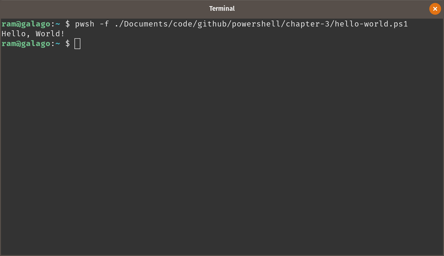 Calling a PowerShell cmdlet from outside of PowerShell - PowerShell
