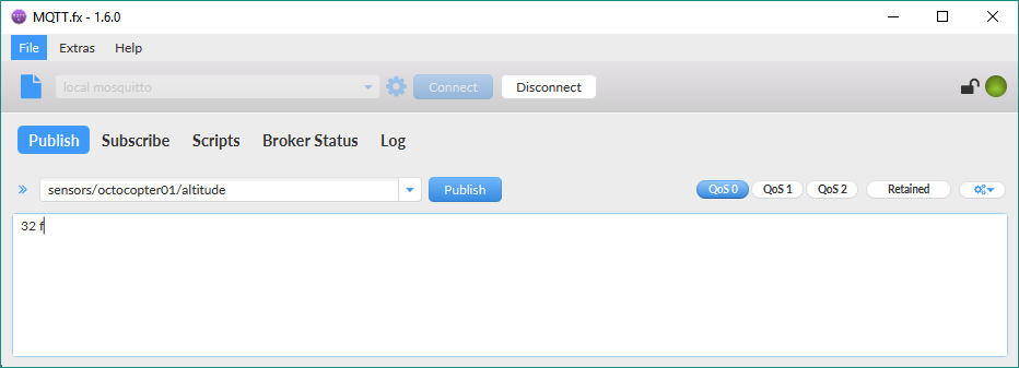 Publishing messages with a GUI tool - Hands-On MQTT Programming with