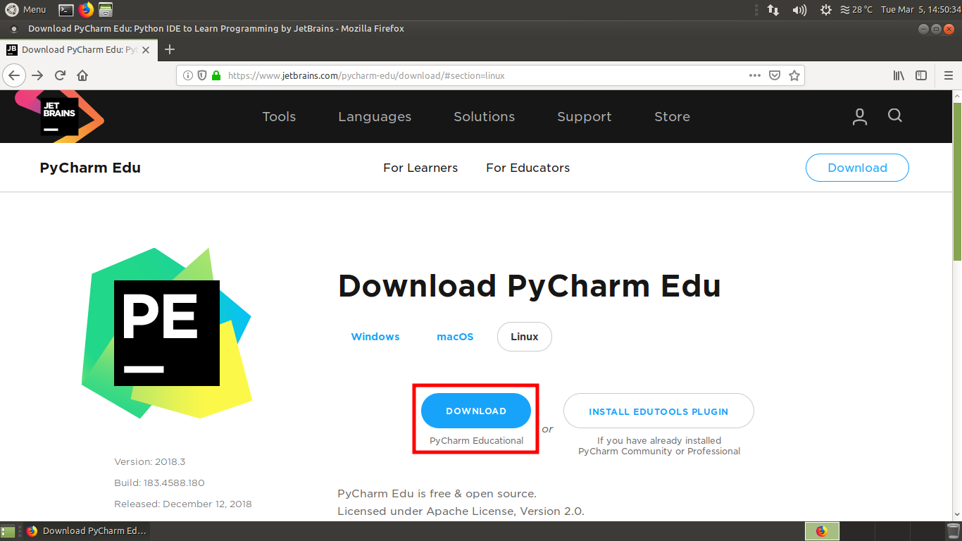 Installing PyCharm - Hands-On GPU Computing with Python