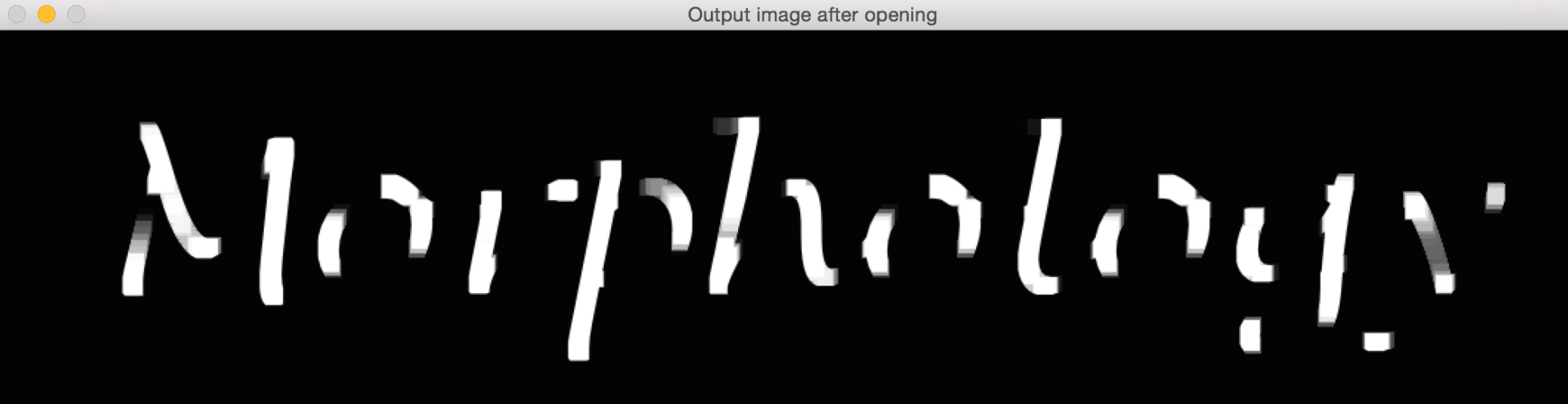 Other morphological operators - Learn OpenCV 4 By Building Projects