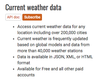 Getting weather data on our Pi with OpenWeatherMap - Hands