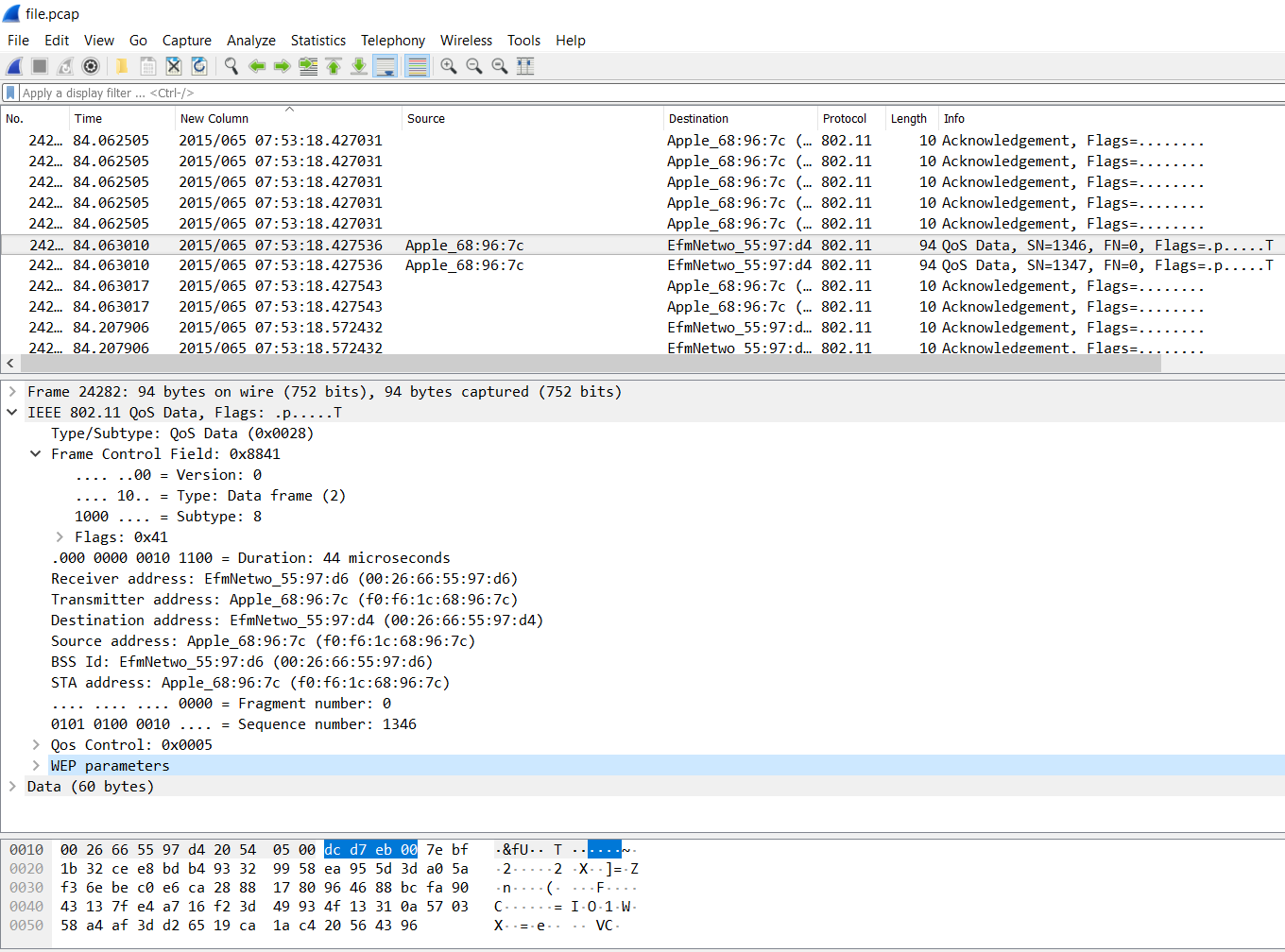 Decrypting 802 11 packets - Hands-On Network Forensics