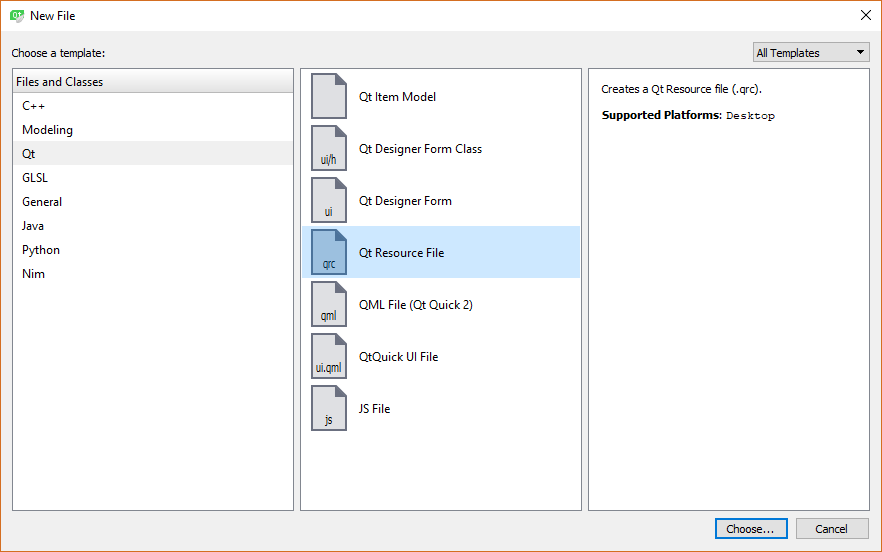 Style resource - End to End GUI development with Qt5