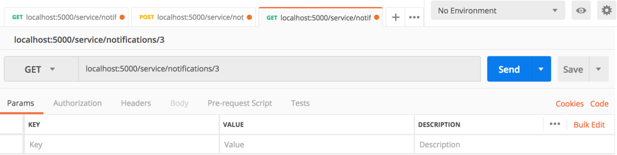 Making HTTP requests to the Flask API - Hands-On RESTful Python Web