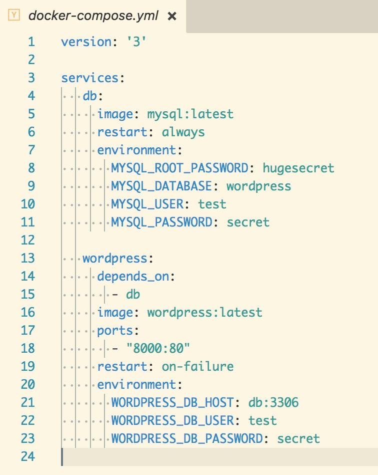 Networking with docker-compose - Beginning DevOps with Docker