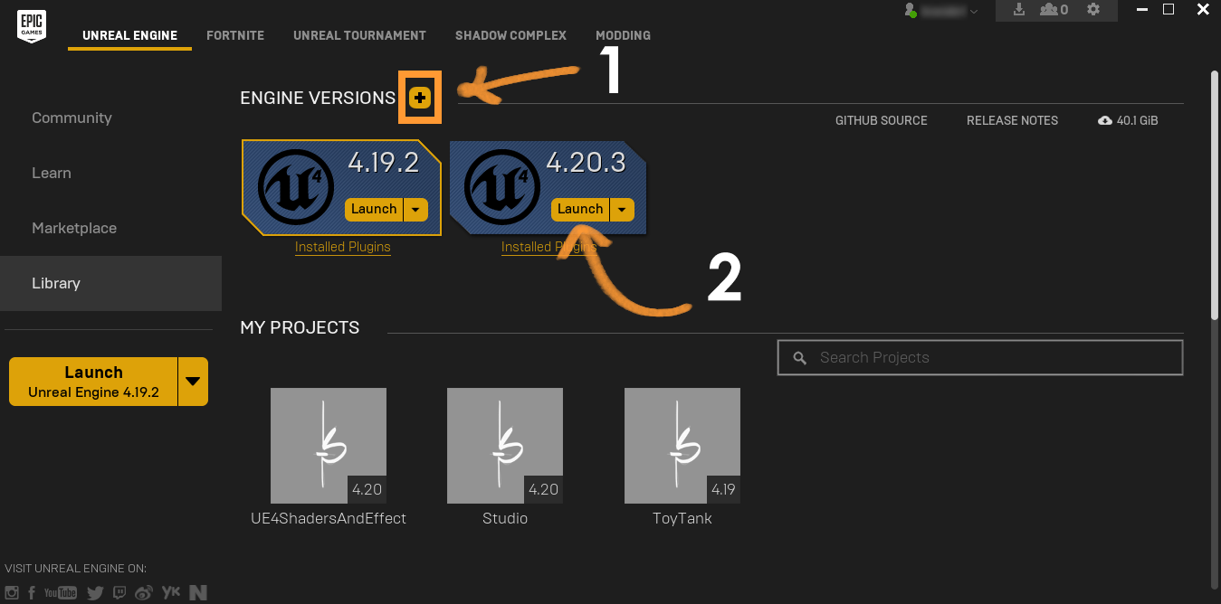 Setting up a studio scene - Unreal Engine 4 Shaders and