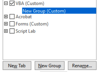 Figure 1.35 – Selecting the new group