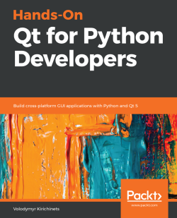 Index - Hands-On Qt for Python Developers