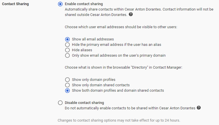 Setting up G Suite Contacts - Hands-On G Suite for
