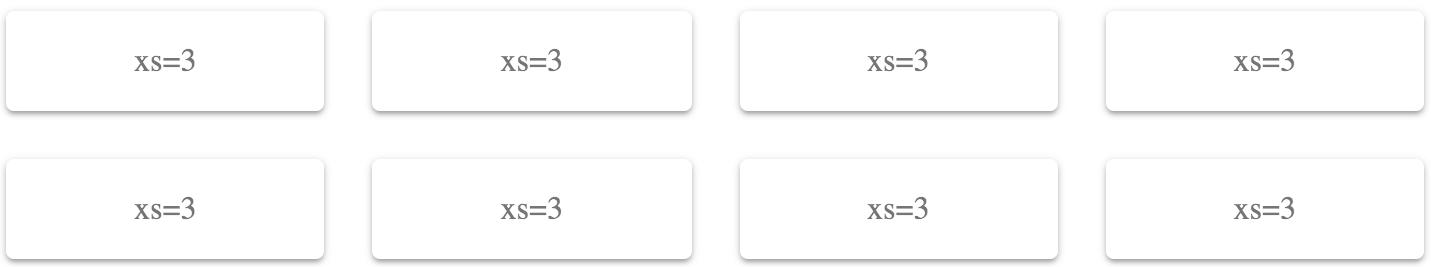 Fixed column layout - React Material-UI Cookbook