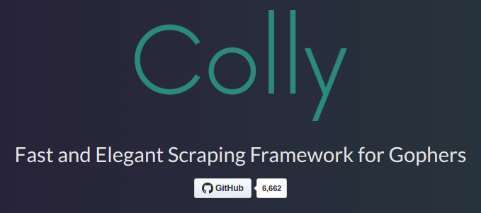 Scraping HTML pages with colly - Go Web Scraping Quick Start Guide