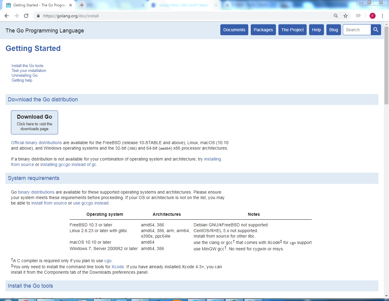 Install golang linux command line | Peatix