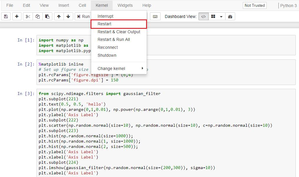 Customizing PyLab using style - Mastering Matplotlib 2 x
