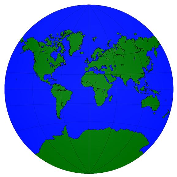 The basemap methods - Mastering Matplotlib 2 x