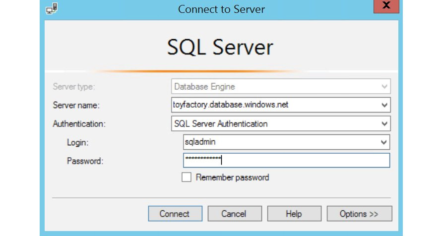 Figure 1.16: Login panel of SQL Server