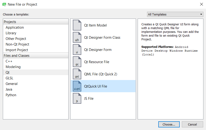 Designing a basic user interface with QML - Qt5 C++ GUI
