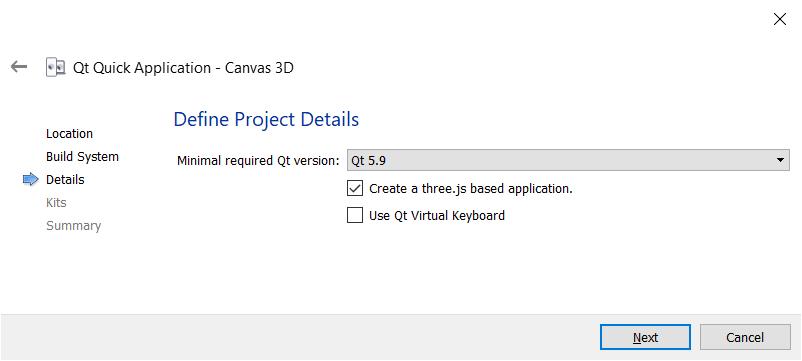 3D canvas in QML - Qt5 C++ GUI Programming Cookbook - Second Edition