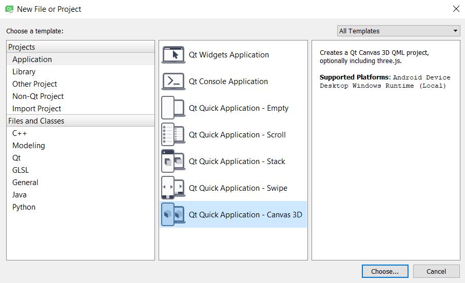 3D canvas in QML - Qt5 C++ GUI Programming Cookbook - Second