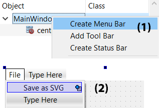 Exporting shapes to SVG files - Qt5 C++ GUI Programming
