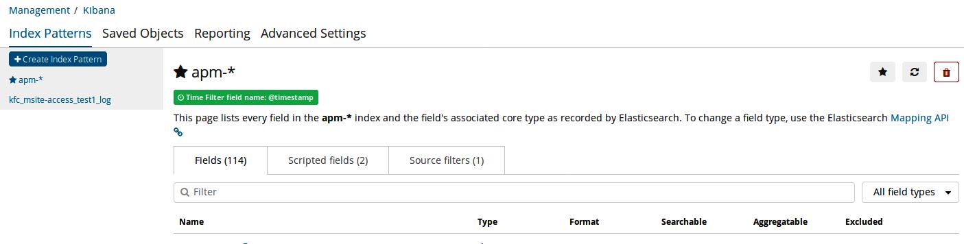 Configuring index patterns in Kibana - Kibana 7 Quick Start