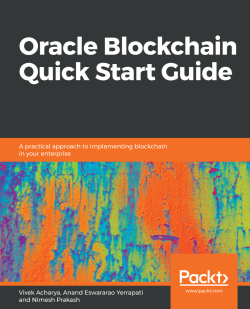 Oracle Blockchain Quick Start Guide