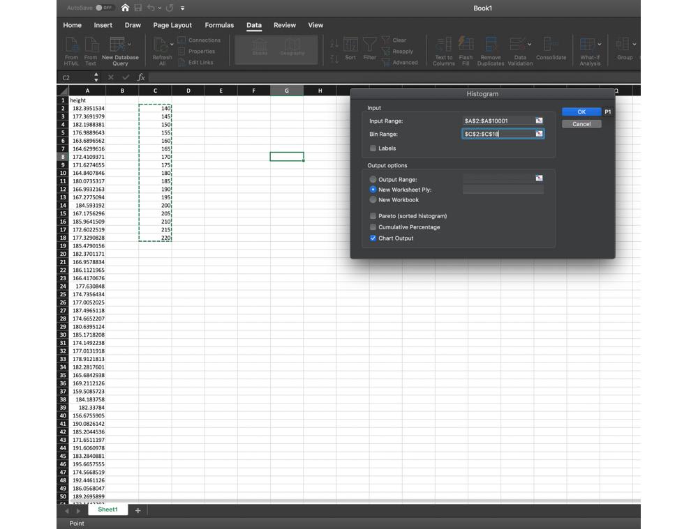 Figure 1.7: Selecting New Worksheet Ply