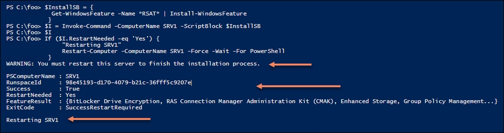 Installing RSAT tools on Window 10 and Windows Server 2019