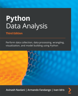 Book cover image for Python Data Analysis - Third Edition